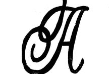 Create - Monograms / by annamelie