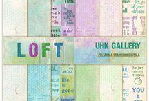 UHK Gallery 2015 - LOFT scrapbooking paper collection