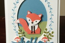 Stampin'Up! Foxy Friends