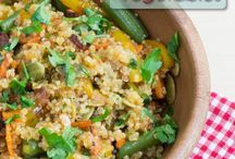 Quinoa Recipes / by Stacia Ellis