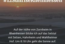 Sonnenaufgänge in Rheinhessen #12SunriseRheinhessen