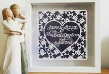 Personalised Wedding Gifts / Personalised wedding gifts for the big day