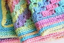Crochet baby blankets / Great baby blanket patterns.