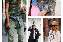 fashion: camouflage / military inspired. / by ChuChu Supermom