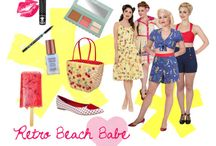 Alternative Beach Fashion / Retro Beach Babe @ Blue Banana