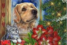 Donna Race- Christmas Art & More / Sharing the artworks of Donna Race, a free lance illustrator painting full color artwork for use in Mass market sales worldwide.