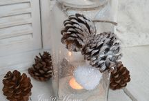 Karácsonyi dekorációk :)