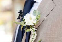 Букеты и бутоньерки на свадьбу