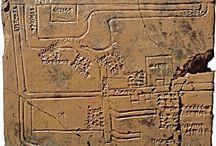 Ancient inscriptions Cuneiform inscriptions / Akkadian writing - Cuneiform foundation cone - Nebuchadnezzar foundation brick - Bilingual cuneiform tablet - Old Babylonian - Cuneiform bulla - Sargonic tablet