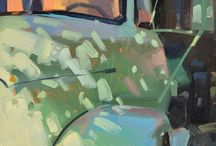 Schilderijen auto's