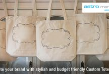 Custom Tote Bags / Custom Tote Bags in Canada by Astro Marketing.