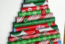 karácsonyfa papírból
