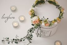 花冠のイメージコレクション(手作り参考) / 花嫁なら一度は憧れる「花冠」について、イメージ画像をまとめました。手作りの参考にしたいですね。