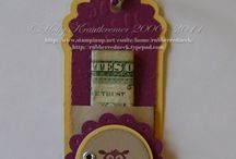 Stampin Up Two Tags