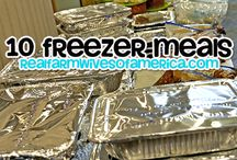 Freezer Meals / by Dacia Osborn-Roberson
