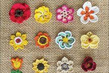 Crochete flowers