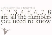 U know ur a dancer when..