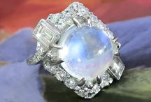 Moonstone Finds / One of a kind estate, vintage & antique moonstone jewelry from Jewelry Finds®!!!