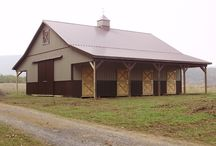 Equestrian Pole Barns / Equestrian Pole Barns designed and constructed for horses, equipment for the horses, and anything else that a horse might need. All buildings were built by Pioneer Pole Buildings. Call 888-448-2505 for any questions.