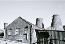Hudson's History / Some historic photos of our factory, including our bottle kilns.