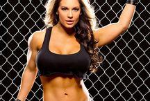 Former WWE/WWF Women Wrestlers.