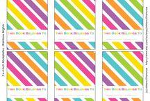 Bookplates / Bookmarks