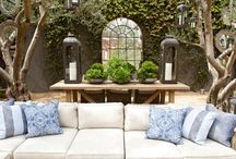 Courtyards / Courtyard / outdoor room areas