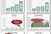 Uxbridge Real Estate Market Update Infographics / Infographics about the Uxbridge Ontario Real Estate Market