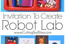 Invitations to play and create