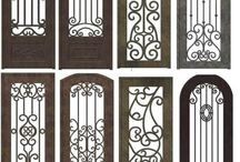 Pintu Wrought Iron