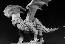 miniature - monster - dragon