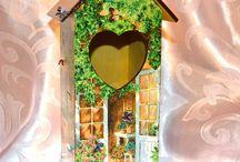 чайный домик с сердцем
