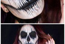 Halloween Deth Makeup