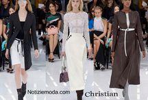 Christian Dior / Christian Dior collezione e catalogo primavera estate e autunno inverno abiti abbigliamento accessori scarpe borse sfilata donna.