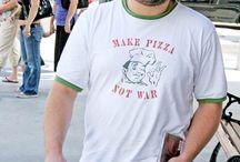 Famous and Pizza / Gente conocida y su pasión por la pizza