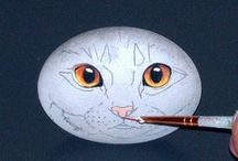 Rock painting: Tutorials and tips / This board has lots of rock painting tutorials,advice,tips,and tons of inspiration!!...Try painting a rock!..It's one of the most relaxing things I've ever done!... / by Janet Williams