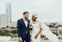 ROOFTOP / Perfect hideaway wedding venues in the heart of the city for intimate ceremonies. Skyline wedding backdrops with glorious views and incredible sunsets.