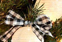 Christmas Style Series: Black and White Christmas