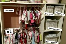 New Born Baby Girl Clothes Storage Ideas