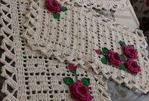 Table runners crochet