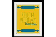 Racing Rickshaws Mood Board