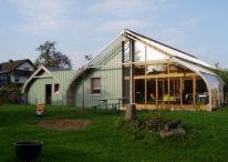 Bungalovy s klenutou střechou