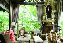 Loggia Living  / Uber outdoor living spaces.