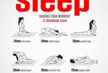 yoga and workout