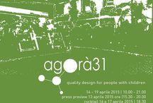 FUORISALONE 2015 / Arkidslab partecipa al Fuorisalone 2015 a Milano presso Agorà31dal 14 al 19 Aprile.