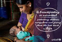 Breastfeeding is Best /  Girl or boy, rich or poor, breastfeeding is a right of every child. #WorldBreastfeedingWeek
