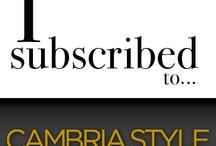 Cambria Dream Kitchen Wishlist