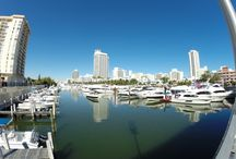 Miami Boat Show / Miami's the boating capital of the world! With an enviable position on the Intracoastal Waterway and Biscayne Bay, Miami is just a short sail away from the marvelous beauty of the Florida Keys.