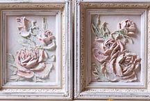 obrazki w gipsie