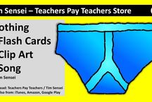 English VIDEO previews of Flash Cards, Clip Art and Songs for Teachers / Video previews of English Flash Cards, Clip Art and Songs from Tim Sensei's Teachers Pay Teachers store